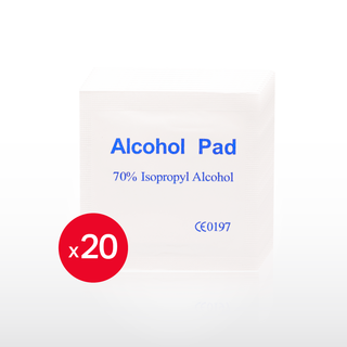 20x Alcohol Wipes